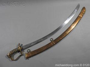 British Officer's Light Cavalry Offer's Sword by Prosser