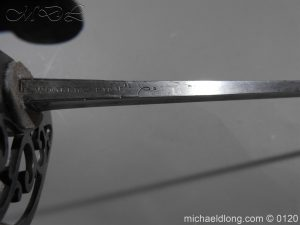 michaeldlong.com 5996 300x225 British Officer's Infantry Spadroon