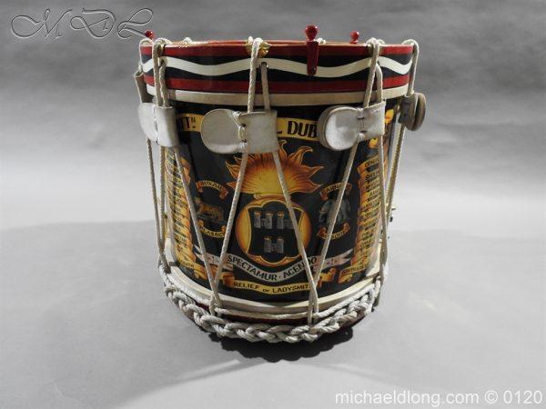 michaeldlong.com 6105 600x450 1st Battn Royal Dublin Fusiliers Regimental Drum by Henry Potter