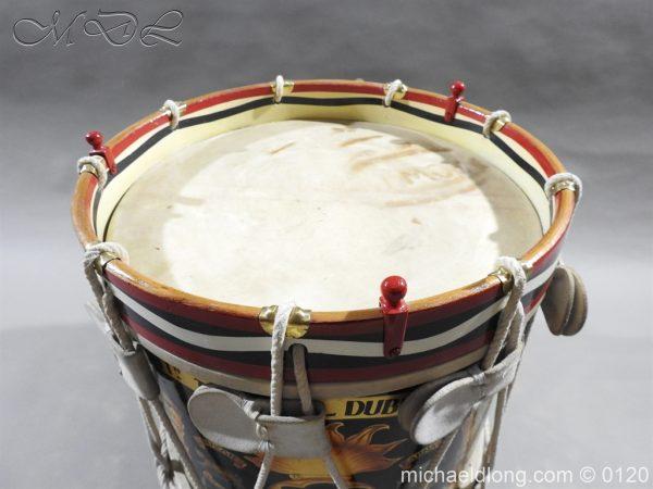 michaeldlong.com 6106 600x450 1st Battn Royal Dublin Fusiliers Regimental Drum by Henry Potter
