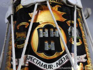 michaeldlong.com 6113 300x225 1st Battn Royal Dublin Fusiliers Regimental Drum by Henry Potter