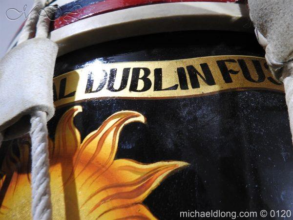 michaeldlong.com 6114 600x450 1st Battn Royal Dublin Fusiliers Regimental Drum by Henry Potter