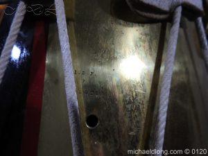 michaeldlong.com 6117 300x225 1st Battn Royal Dublin Fusiliers Regimental Drum by Henry Potter