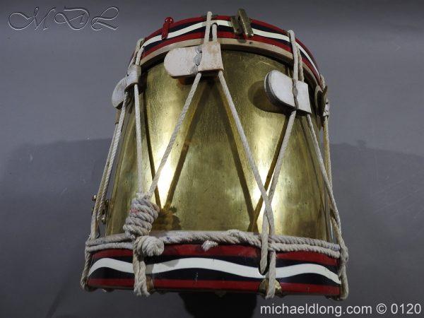 michaeldlong.com 6118 600x450 1st Battn Royal Dublin Fusiliers Regimental Drum by Henry Potter