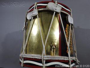 michaeldlong.com 6119 300x225 1st Battn Royal Dublin Fusiliers Regimental Drum by Henry Potter