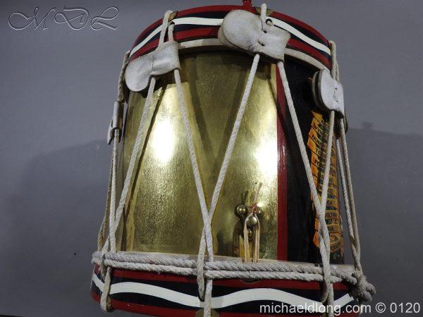 michaeldlong.com 6119 600x450 1st Battn Royal Dublin Fusiliers Regimental Drum by Henry Potter