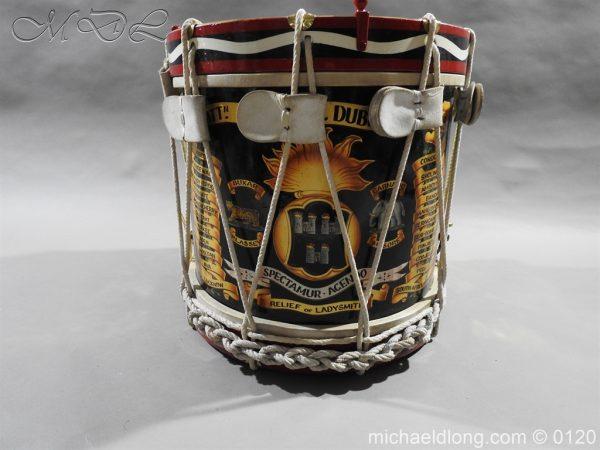 michaeldlong.com 6121 600x450 1st Battn Royal Dublin Fusiliers Regimental Drum by Henry Potter