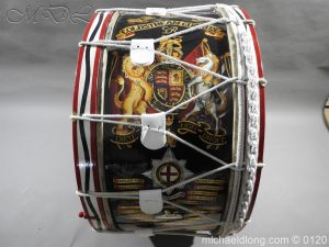 1st Battalion Coldstream Guards Brass Drum