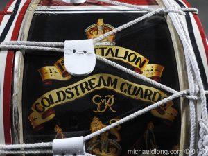 michaeldlong.com 6123 300x225 1st Battalion Coldstream Guards Brass Drum