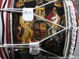 michaeldlong.com 6124 300x225 1st Battalion Coldstream Guards Brass Drum