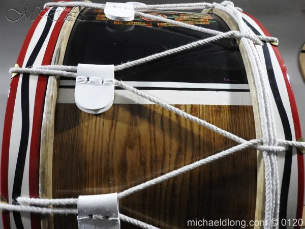 michaeldlong.com 6127 600x450 1st Battalion Coldstream Guards Brass Drum