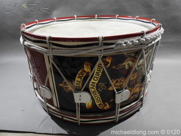 michaeldlong.com 6131 600x450 1st Battalion Coldstream Guards Brass Drum