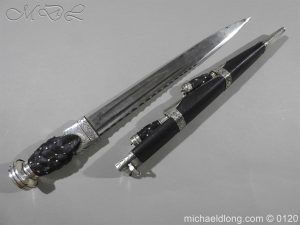 michaeldlong.com 6145 300x225 Scottish Silver Mounted Dirk