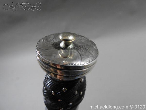 michaeldlong.com 6155 600x450 Scottish Silver Mounted Dirk