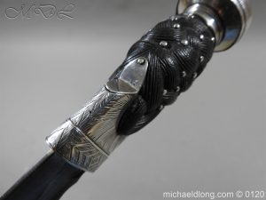 michaeldlong.com 6158 300x225 Scottish Silver Mounted Dirk