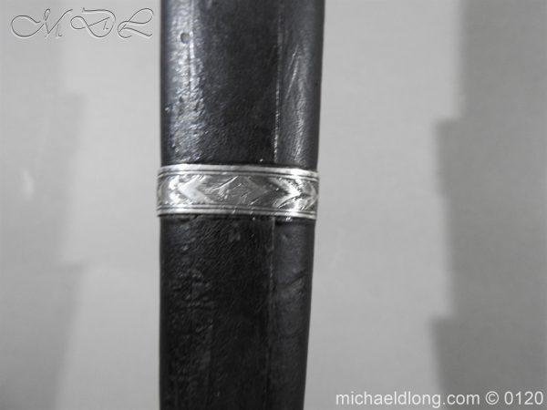 michaeldlong.com 6165 600x450 Scottish Silver Mounted Dirk