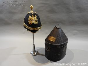 Royal Army Medical Corps Officer's Service Helmet