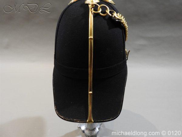 michaeldlong.com 6206 600x450 Royal Army Medical Corps Officer's Service Helmet Lt R Le Geyt Worsley