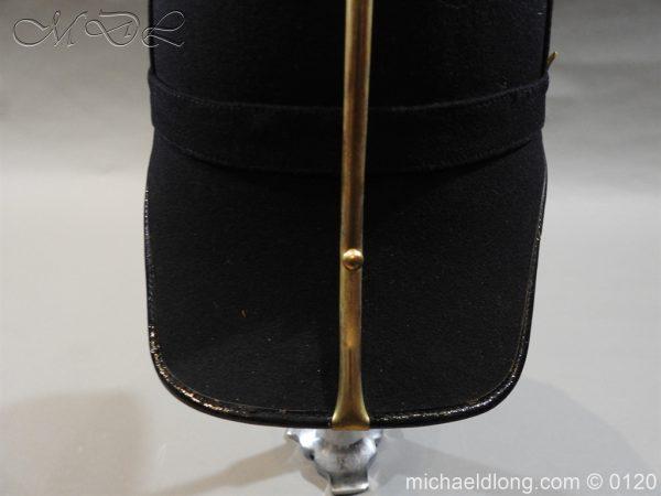 michaeldlong.com 6207 600x450 Royal Army Medical Corps Officer's Service Helmet Lt R Le Geyt Worsley