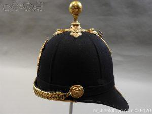michaeldlong.com 6208 300x225 Royal Army Medical Corps Officer's Service Helmet Lt R Le Geyt Worsley