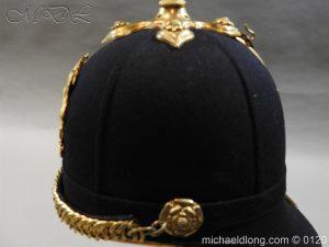 michaeldlong.com 6209 300x225 Royal Army Medical Corps Officer's Service Helmet Lt R Le Geyt Worsley