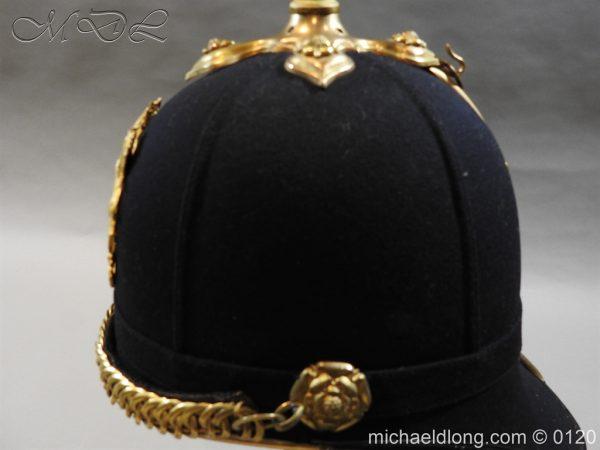 michaeldlong.com 6209 600x450 Royal Army Medical Corps Officer's Service Helmet Lt R Le Geyt Worsley