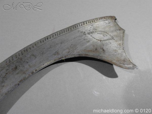 michaeldlong.com 6300 600x450 Indian Sword 19 c Kora