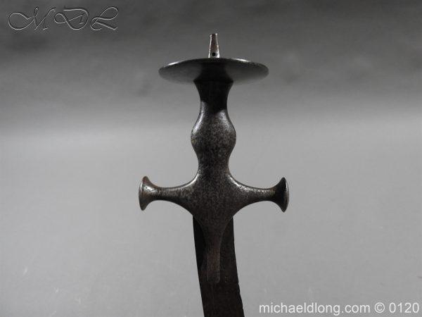 michaeldlong.com 6310 600x450 Indian Sword 19 c Kora