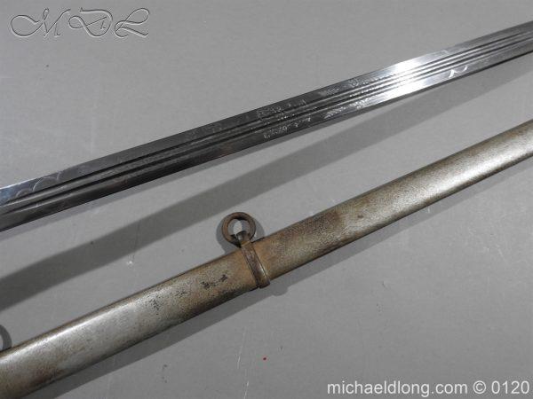 michaeldlong.com 6313 600x450 Scottish Highland Light Infantry Officer's Sword