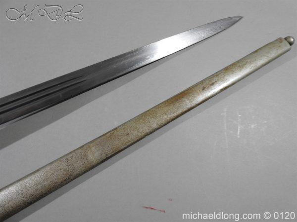 michaeldlong.com 6314 600x450 Scottish Highland Light Infantry Officer's Sword