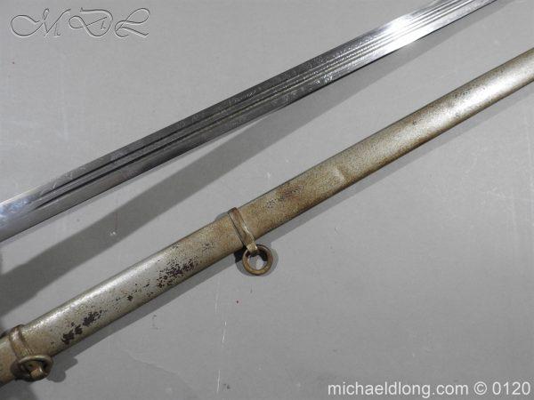 michaeldlong.com 6317 600x450 Scottish Highland Light Infantry Officer's Sword