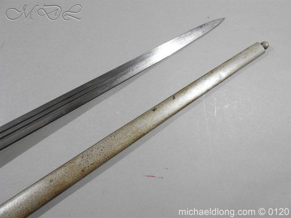 michaeldlong.com 6318 600x450 Scottish Highland Light Infantry Officer's Sword