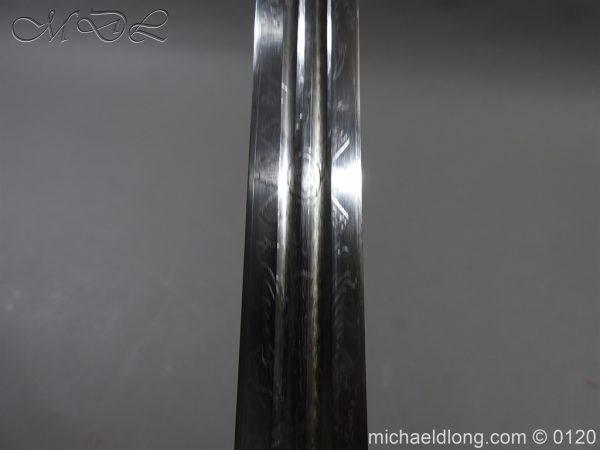 michaeldlong.com 6330 600x450 Scottish Highland Light Infantry Officer's Sword