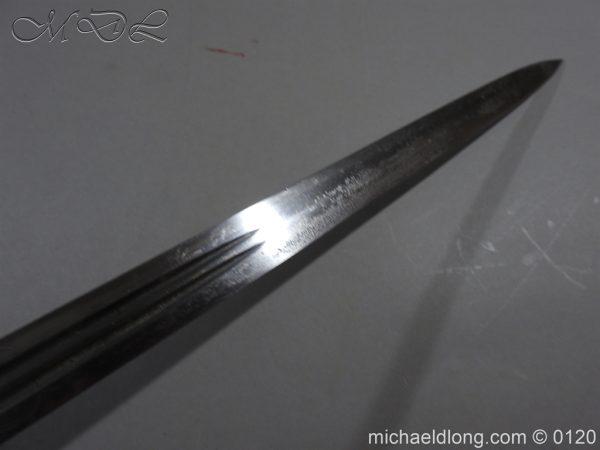 michaeldlong.com 6333 600x450 Scottish Highland Light Infantry Officer's Sword