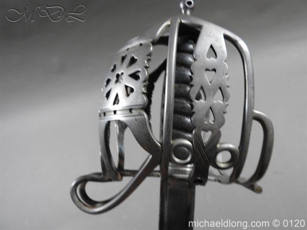 michaeldlong.com 6334 600x450 Scottish Highland Light Infantry Officer's Sword