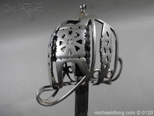 michaeldlong.com 6340 600x450 Scottish Highland Light Infantry Officer's Sword