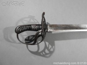 michaeldlong.com 6526 300x225 Heavy Houshold Cavalry Sword c 1810