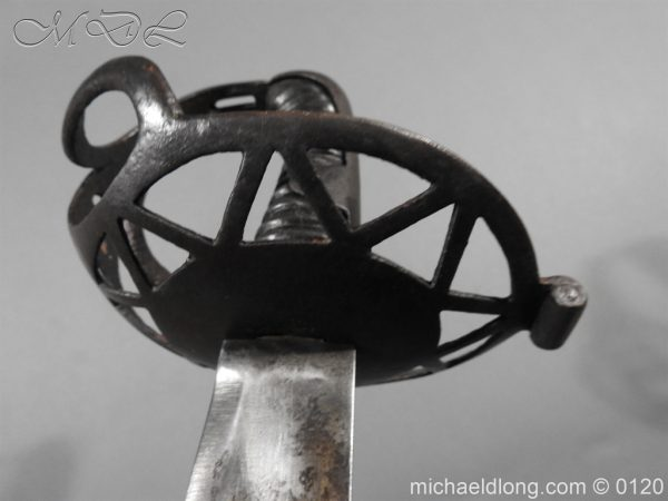 michaeldlong.com 6537 600x450 Heavy Houshold Cavalry Sword c 1810