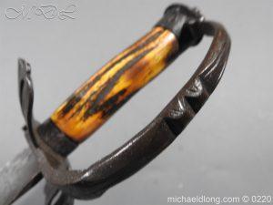 michaeldlong.com 6735 300x225 English Military Hanger Horn Clemens Solingen 1586 1617