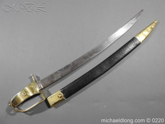 French Naval Cutlass Dated 1797