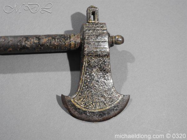 michaeldlong.com 6873 600x450 Persian 18th century Tabar War Axe