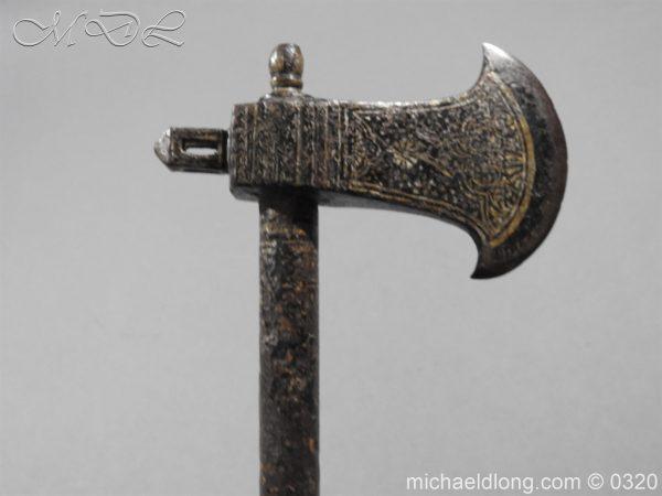 michaeldlong.com 6884 600x450 Persian 18th century Tabar War Axe