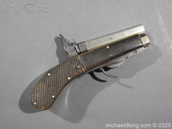 michaeldlong.com 7140 600x450 Unwin and Rodgers Rimfire Knife Pistol