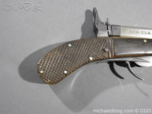 michaeldlong.com 7141 600x450 Unwin and Rodgers Rimfire Knife Pistol
