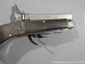 michaeldlong.com 7142 300x225 Unwin and Rodgers Rimfire Knife Pistol