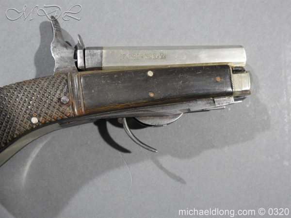 michaeldlong.com 7142 600x450 Unwin and Rodgers Rimfire Knife Pistol