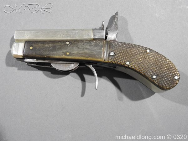 michaeldlong.com 7143 600x450 Unwin and Rodgers Rimfire Knife Pistol