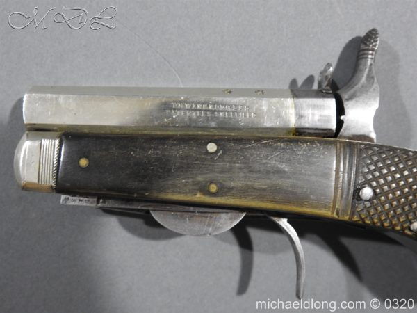 michaeldlong.com 7144 600x450 Unwin and Rodgers Rimfire Knife Pistol