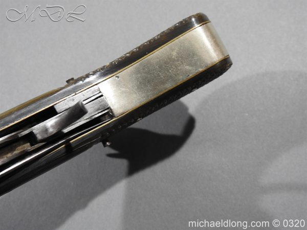 michaeldlong.com 7145 600x450 Unwin and Rodgers Rimfire Knife Pistol