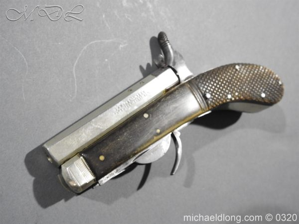 michaeldlong.com 7154 600x450 Unwin and Rodgers Rimfire Knife Pistol